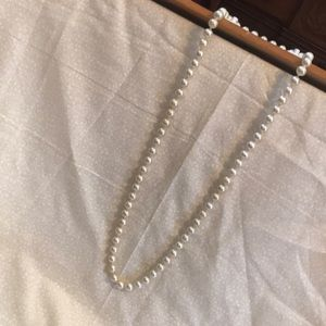 Off White Strand Pearls